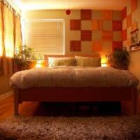 прямоугольная спальня 16 кв м дизайн интерьер
