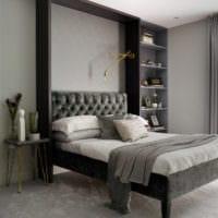 прямоугольная спальня 16 кв м фото дизайна