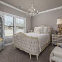 прямоугольная спальня 16 кв м фото интерьера