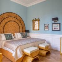 прямоугольная спальня 16 кв м фото оформление