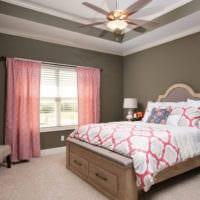 прямоугольная спальня 16 кв м идеи фото