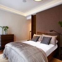 прямоугольная спальня 16 кв м интерьер фото