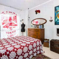 прямоугольная спальня 16 кв м интерьер идеи