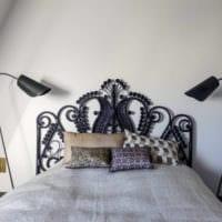 прямоугольная спальня 16 кв м оформление фото