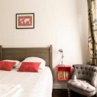 прямоугольная спальня 16 кв м оформление идеи