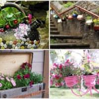 садовый участок 4 сотки кашпо в саду