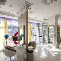 салон красоты интерьер зала