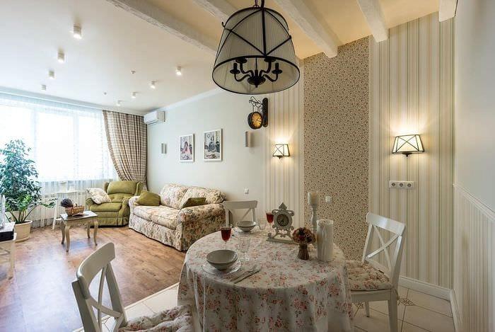 гармоничный дизайн квартиры