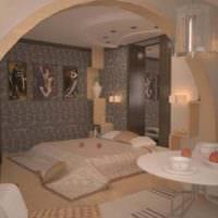 спальня 15 м2 дизайн фото