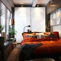 спальня 15 м2 дизайн интерьер