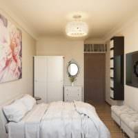 спальня 15 м2 фото интерьера