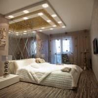 спальня 15 м2 в светлых тонах