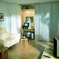 спальня кабинет дизайн интерьер