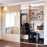спальня кабинет дизайн интерьера