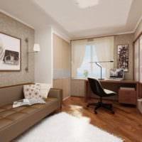 спальня кабинет дизайн