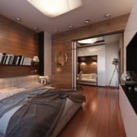 спальня кабинет фото интерьера