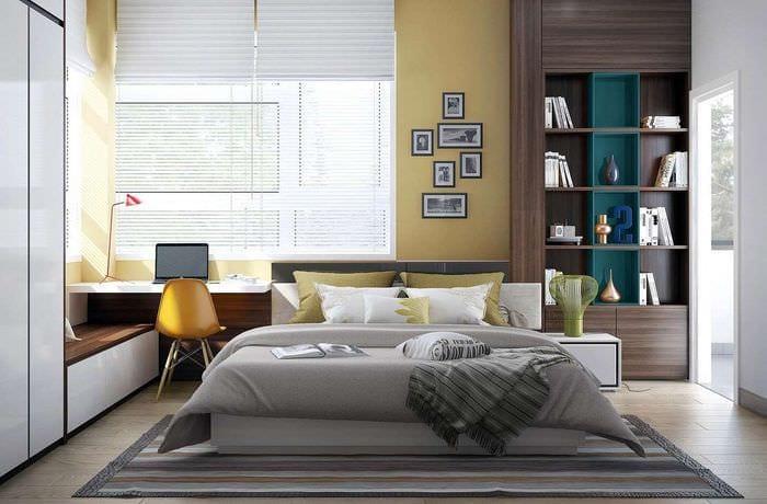 спальня кабинет фото