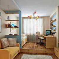 спальня кабинет идеи интерьер