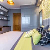 спальня площадью 14 м2 дизайн