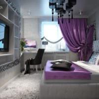 спальня площадью 14 м2 дизайн фото