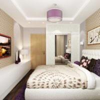 спальня площадью 14 м2 интерьер фото