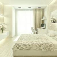 спальня площадью 14 м2 современный дизайн