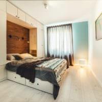 спальня площадью 14 м2 стильный дизайн