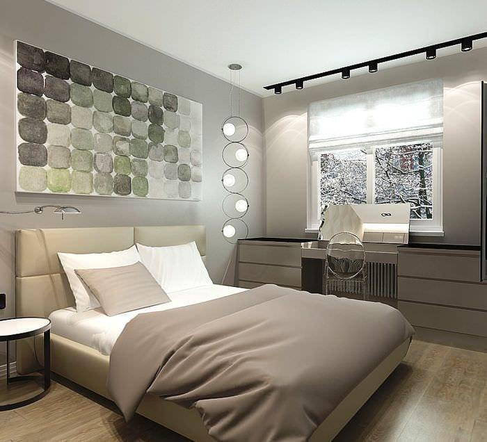 выбор дизайна спальни в хрущевке