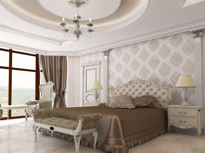 картинки спальни в классическом стиле роллы