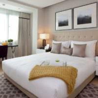 спальня в квартире современный интерьер