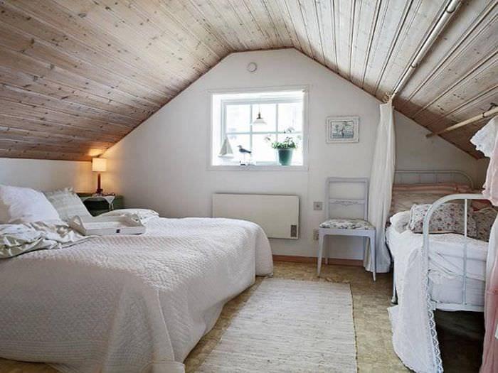 часто нашей дизайн спальни под крышей фото причине того, что