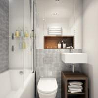 ванная комната 4 кв м проект