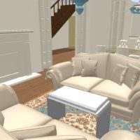 3D дизайн визуализация квартиры фото интерьера