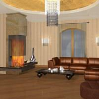 3D визуализация квартиры дизайн
