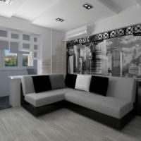 3D визуализация квартиры оформление