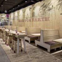 дизайн интерьера кафе и ресторанов особенности