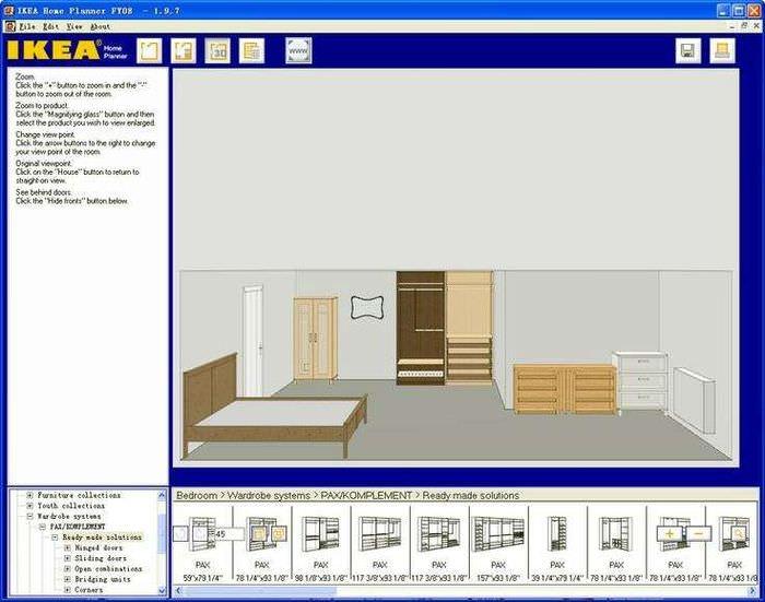 Ikea home planner онлайн