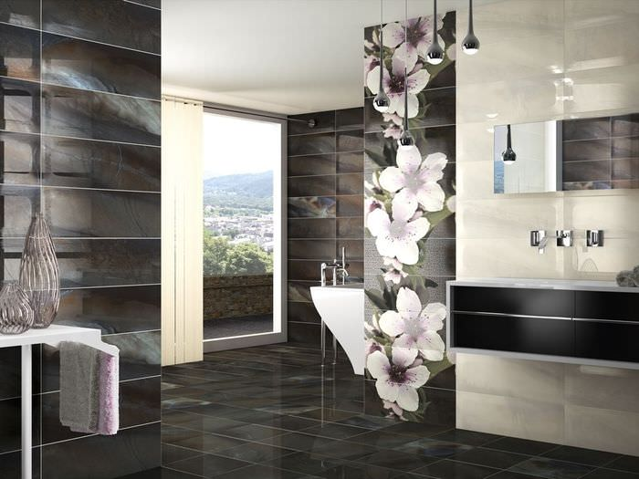 красивая плитка для ванной комнаты