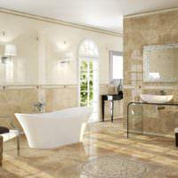 красивая плитка для ванной комнаты варианты