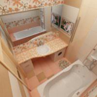 плитка для ванной идеи