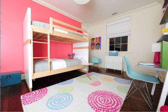 светлая комната для двух детей