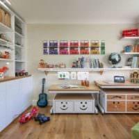 детская комната для мальчика дизайн идеи