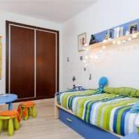детская комната для мальчика фото идеи