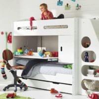 детская комната для мальчика и девочки фото