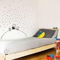 детская комната для мальчика современный интерьер