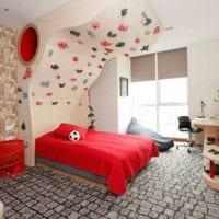 детская комната для мальчика стильный дизайн