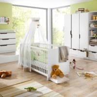 детская комната для новорожденного варианты