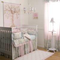 детская комната для новорожденного дизайн фото