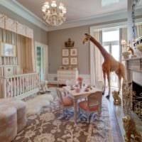 детская комната для новорожденного кровать детская