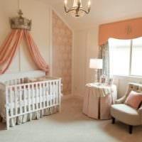 детская комната для новорожденного оформление